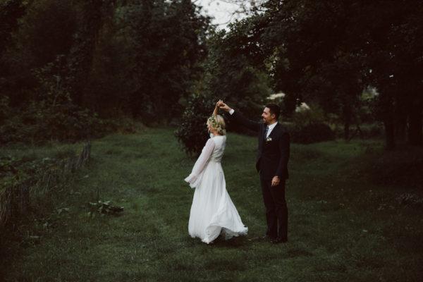 Un matrimonio bohémien di inizio autunno