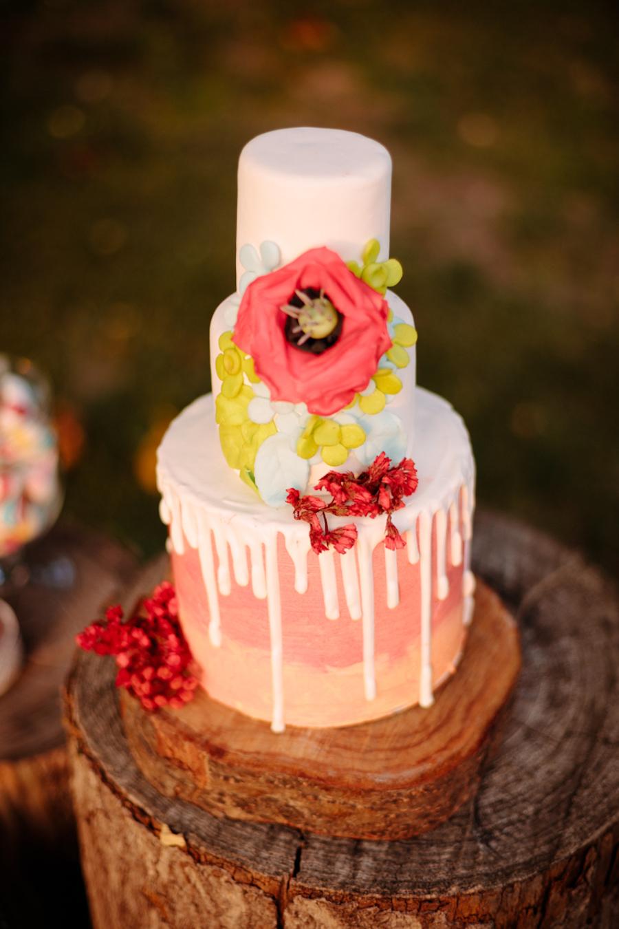 torta matrimonio boho chic messicano