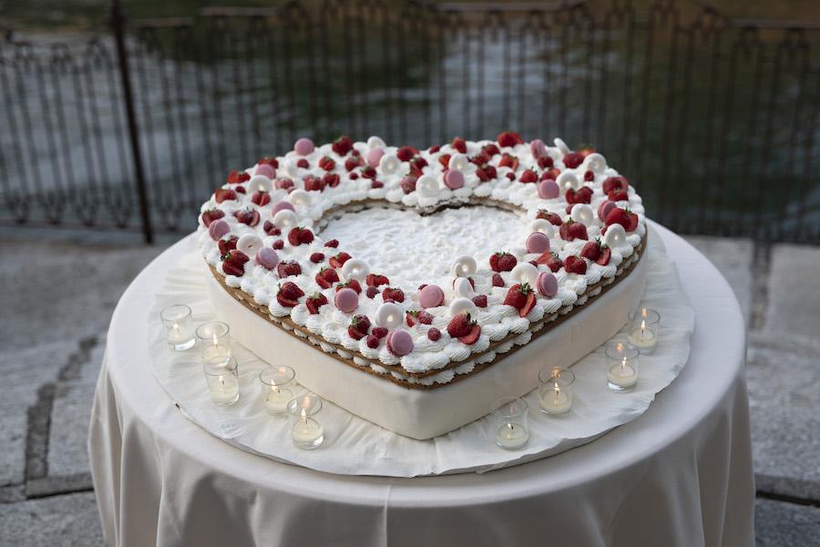 cream tart matrimonio