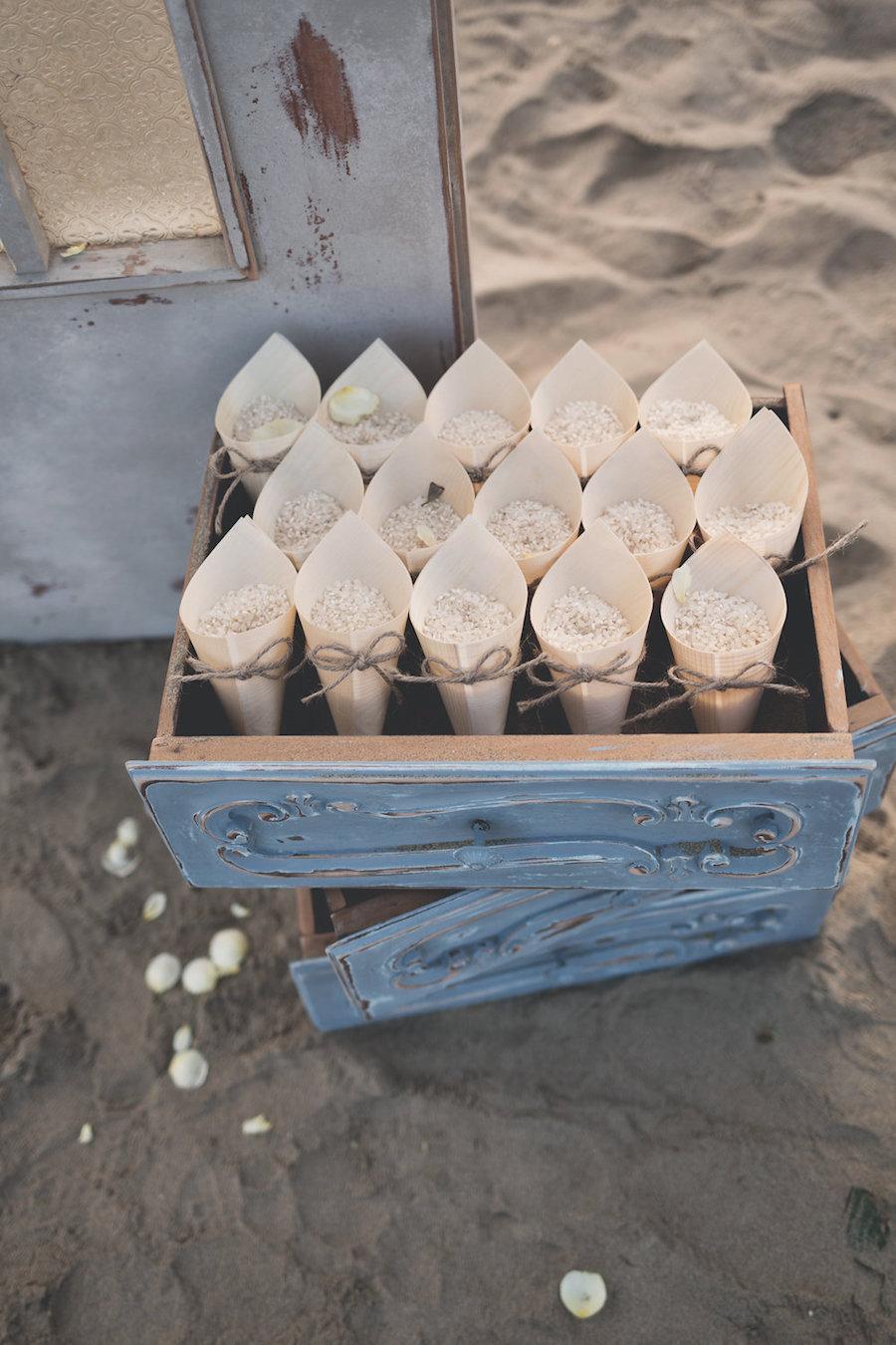 allestimento coni portarono con cassetti vintage