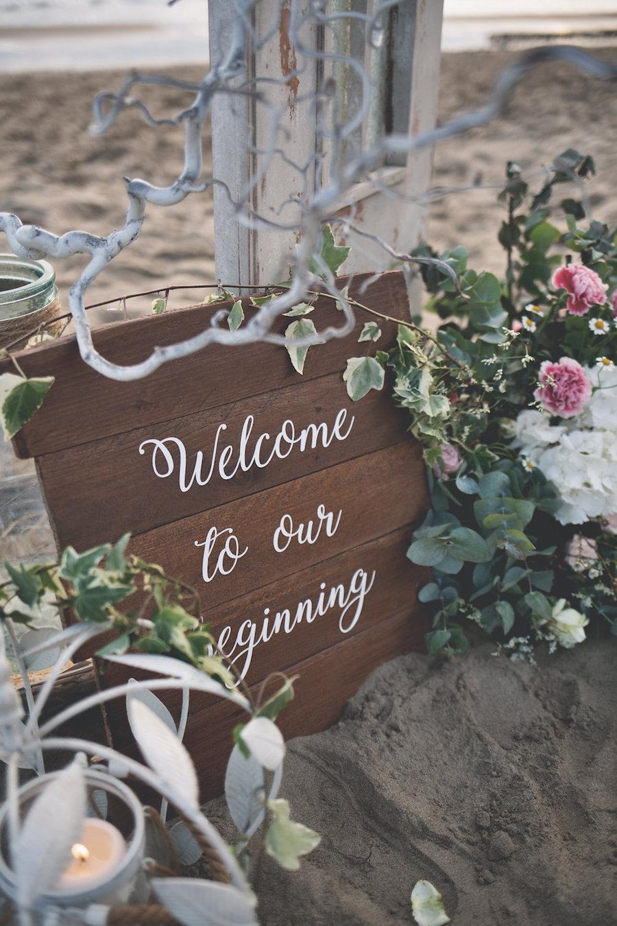 matrimonio romantico sulla spiaggiamatrimonio romantico sulla spiaggia