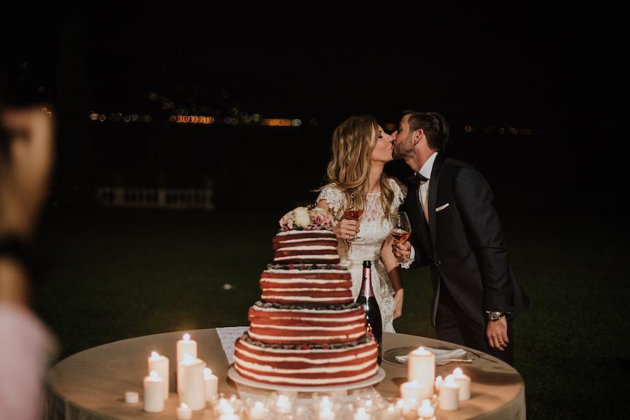 matrimonio vintage sul lago Maggiore