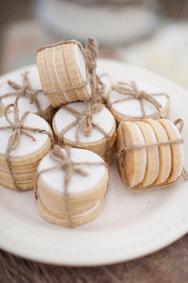 biscotti | bomboniere per un matrimonio autunnale