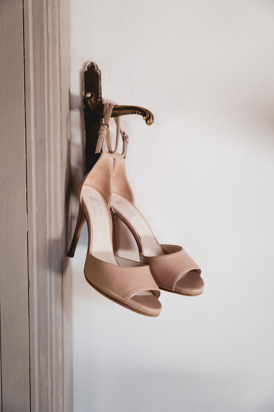 scarpe sposa rosa cipria max mara