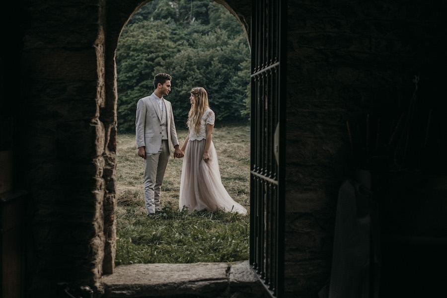 matrimonio vintage in castello