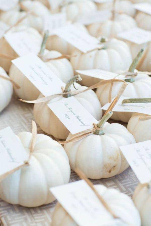 zucche | bomboniere per un matrimonio autunnale