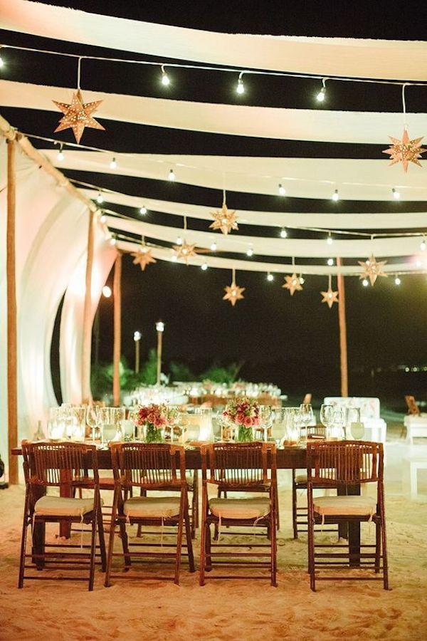 allestimento matrimonio con stelle