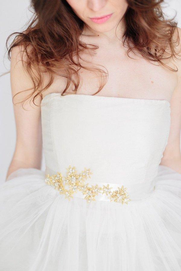 cintura sposa con stelle