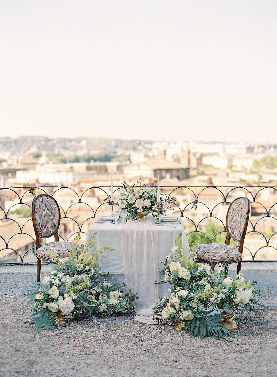 tavola matrimonio a roma
