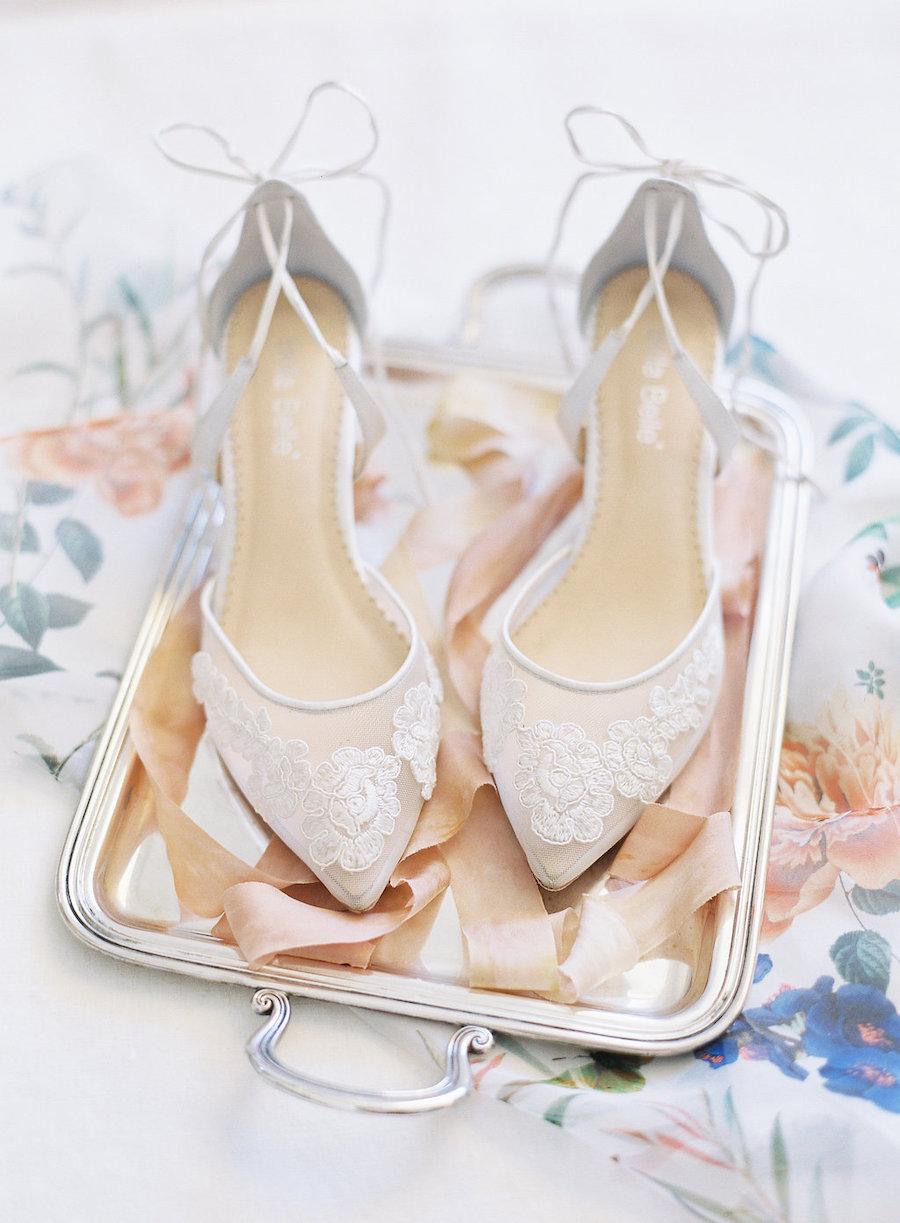 scarpe sposa trasparenti