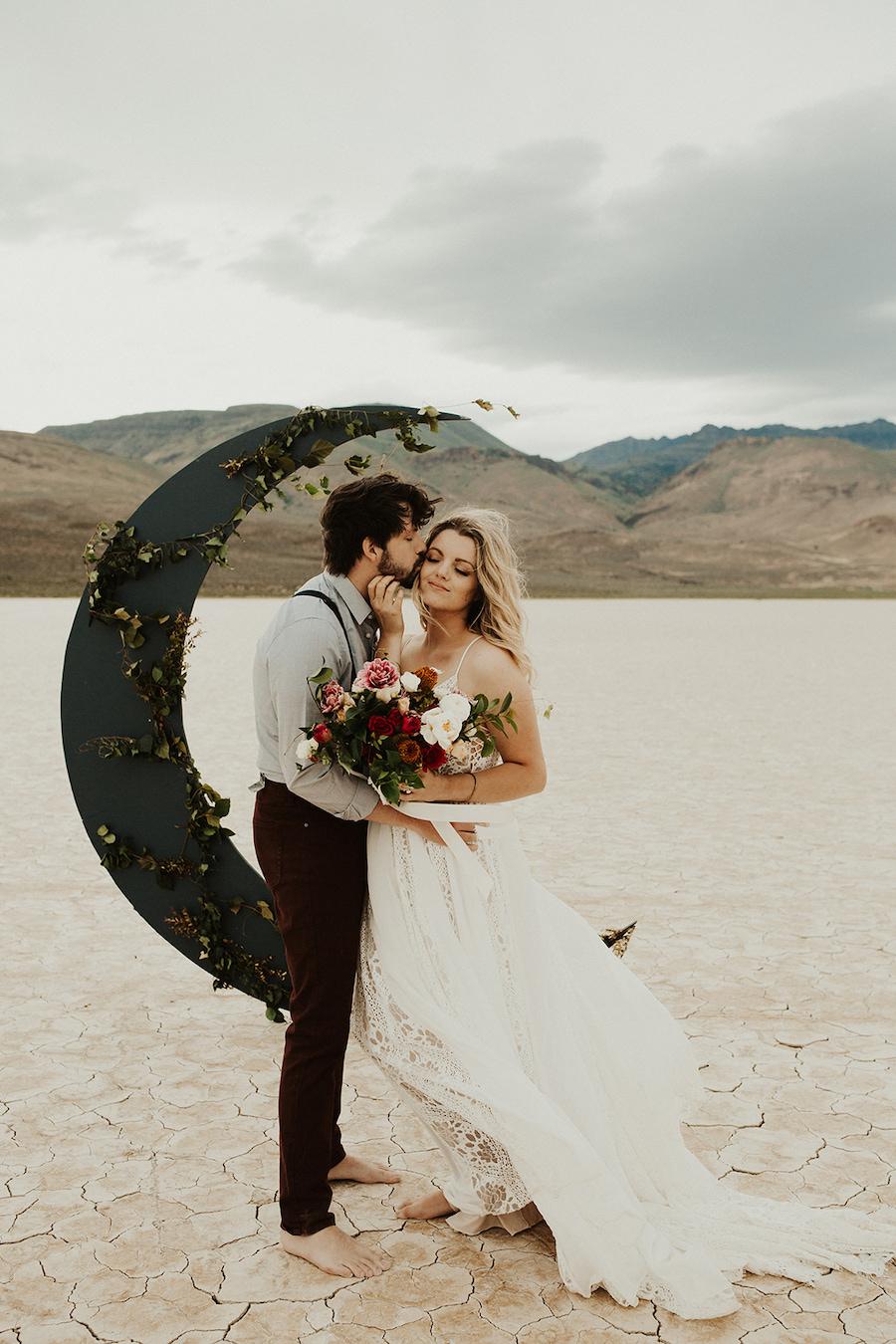 matrimonio a tema luna e stelle
