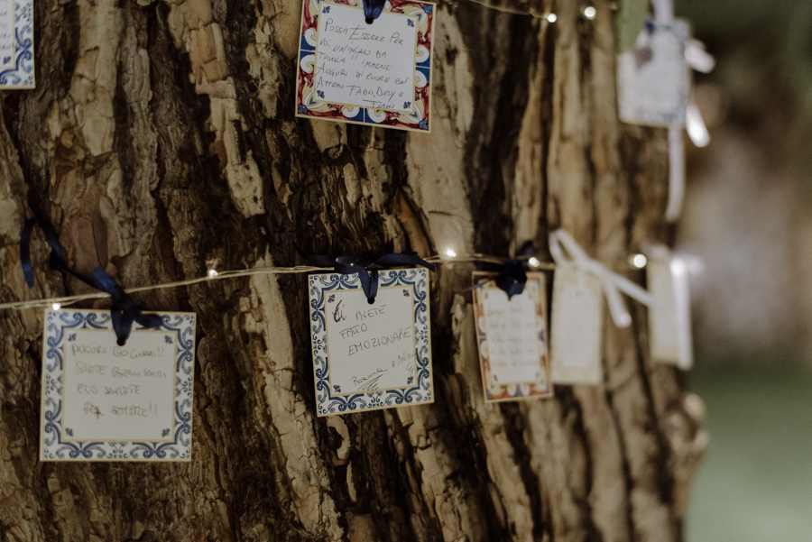 matrimonio ispirato alle maioliche siciliane