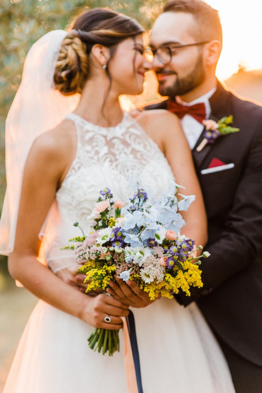 matrimonio autunnale a tema stelle
