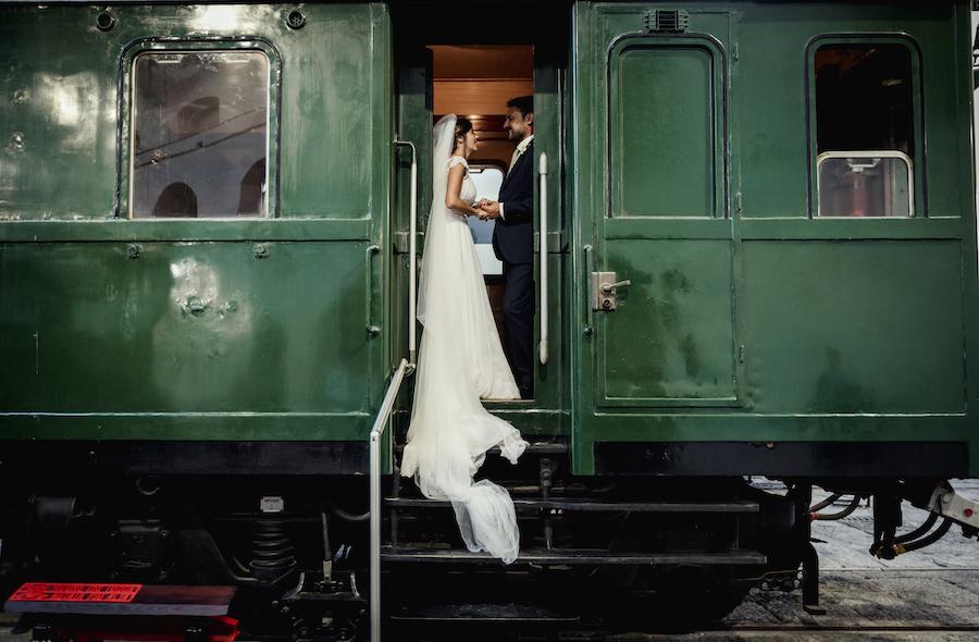 matrimonio al museo ferroviario