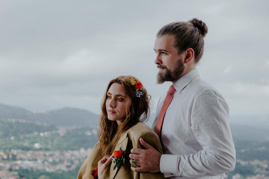matrimonio in un mulino a vento