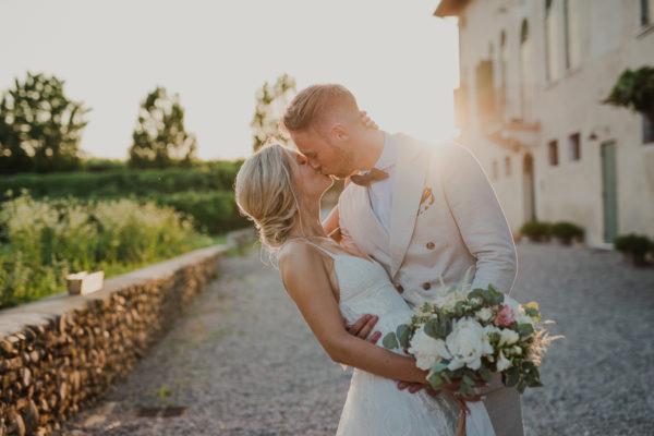 Un matrimonio bucolico sulle colline veronesi