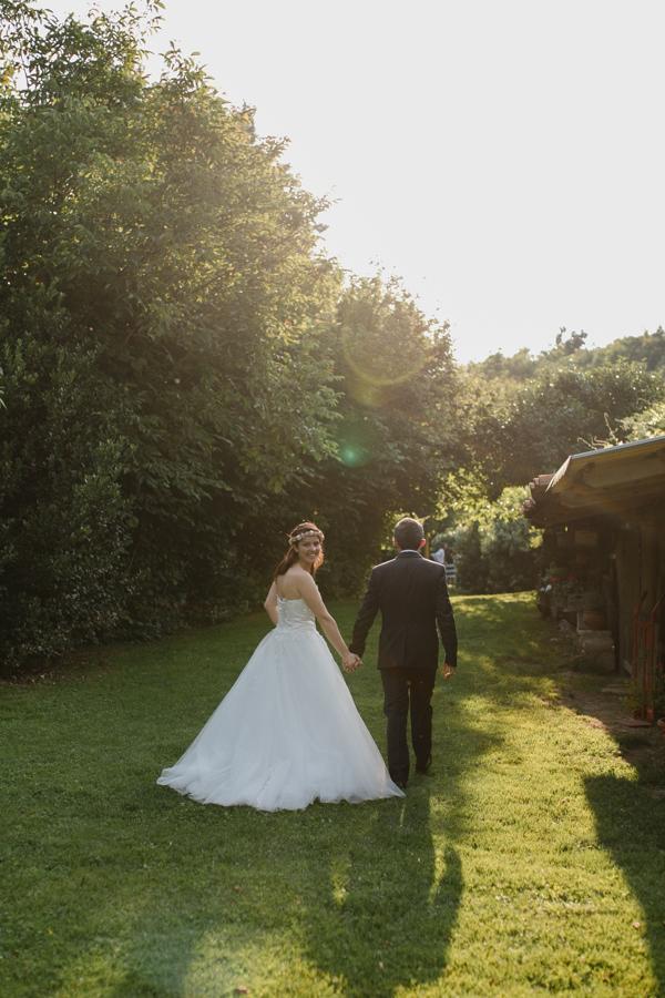matrimonio country bohémien