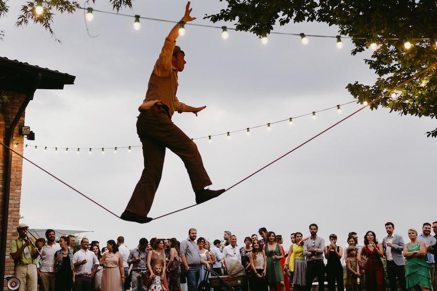 matrimonio ispirato al circo