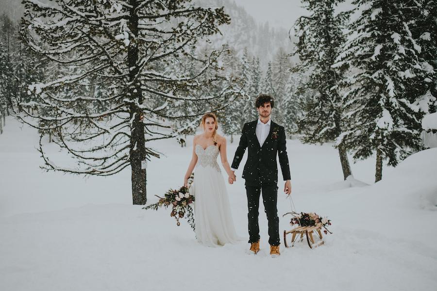 matrimonio hygge sulle dolomiti