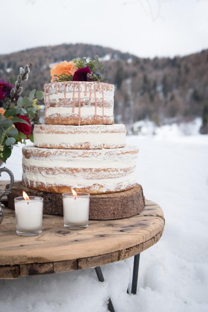 matrimonio bohémien sulla neve