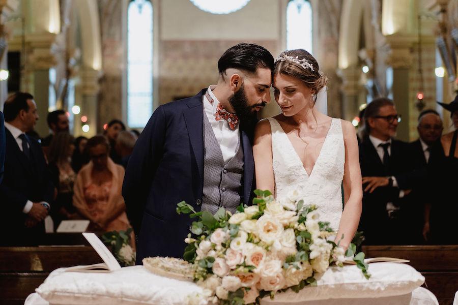 matrimonio raffinato e botanico