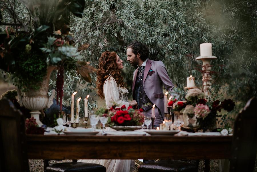 matrimonio medievale in castello