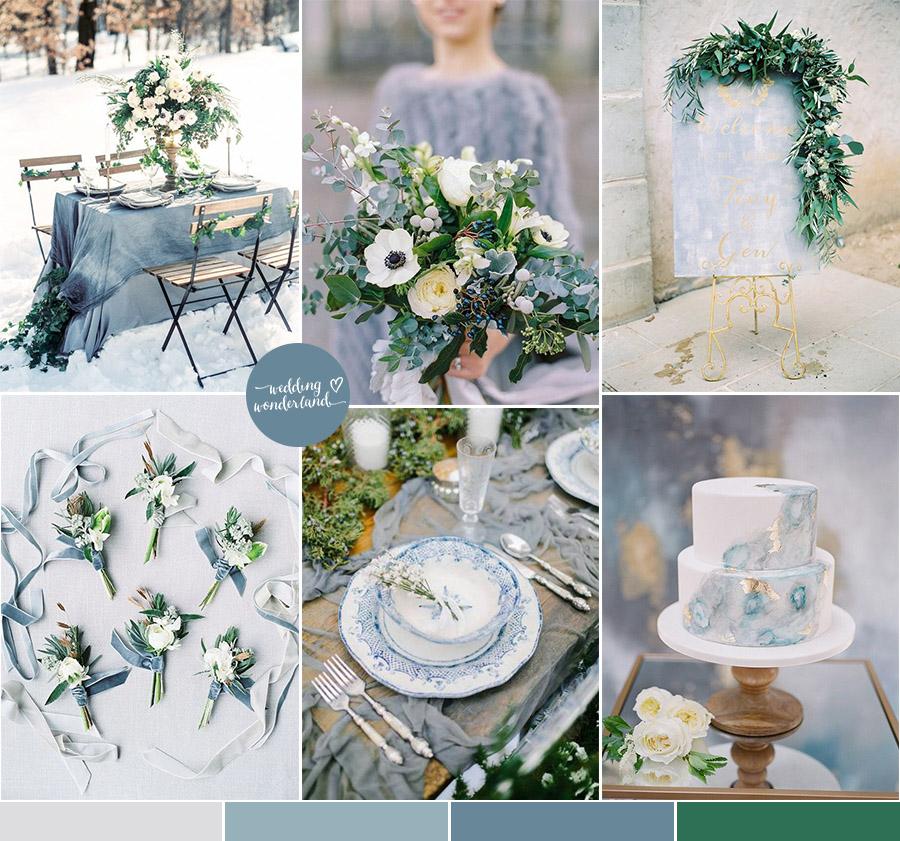 Bouquet Sposa Carta Da Zucchero.Matrimonio Invernale Azzurro Ghiaccio Wedding Wonderland