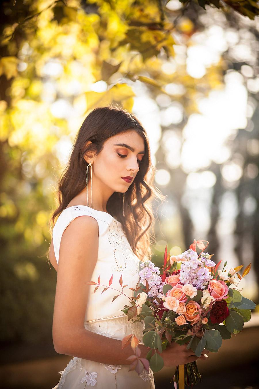 matrimonio arabeggiante in giardino