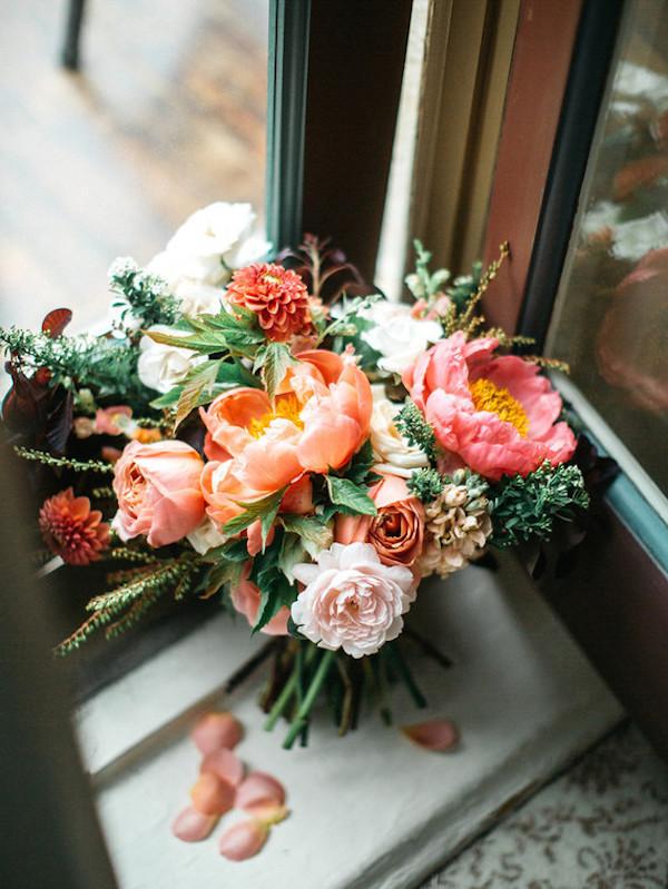 bouquet corallo