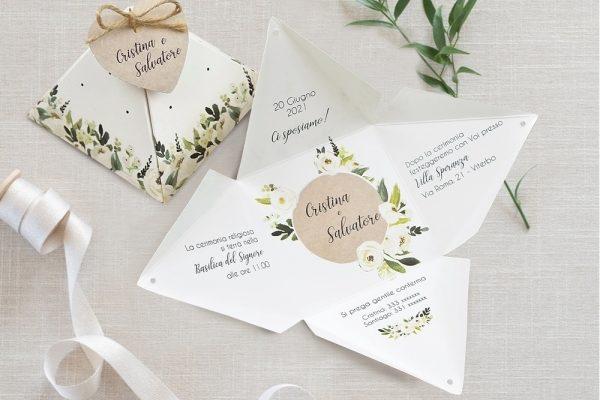 Partecipazioni di nozze i trend per il 2019