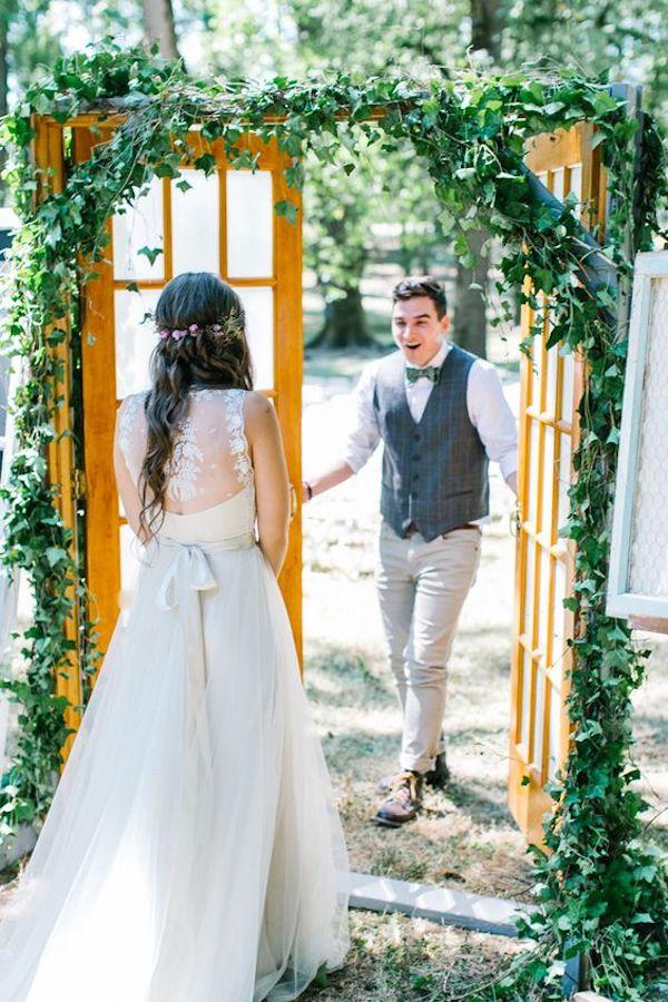 first look matrimonio