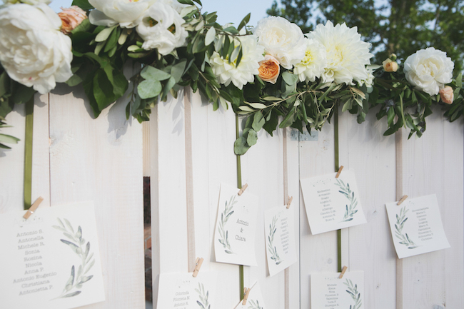 Tema Ulivo Per Matrimonio : Un matrimonio a tema ulivo wedding wonderland